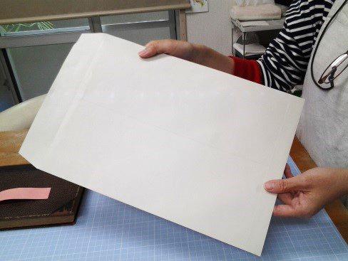 (2)封筒を準備する